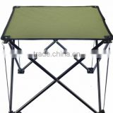 Portable canvas folding bbq table , outdoor camping table , picnic folding table