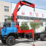 18ton knuckle boom Crane and Accessories,SQ360ZB4, hydraulic truck mounted crane.