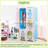 2015 hot sales high quality DIY plastic storage cube wardrobe closet