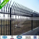High quality and top selling--Beautiful wrought iron fence / zinc steel fence gate (SGS factory)