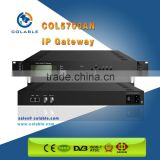 Digital cable tv headend ts converter IP to asi gateway COL5700AN