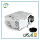 Best quality!UC28+ cheap mini led projector 320*240 56lumens office projector school projector UC28+