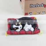 Cute fashion animal sound different styles barking plush dog