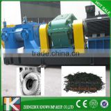 Full automatic Waste Tire Plastic Tyre Recycle Machine / Rubber Powder Machine / Rubber cutter machine