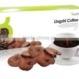 Freeze dried coffee, Lingzhi spore rich bulk instant coffees powder