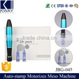 Hot sale home use professional derma stamp electric mesotherapy needle pen for skin rejuvenation