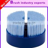 Mobile phone natural wild big bristle sheep's clothing disc brush wholesale 2.5 D lens glass edge grinding polishing brush