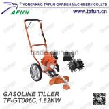Hot sale hand rotavator multifunctional portable mini gasoline power tiller reaper price