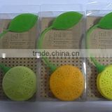 Lemon shape silicone tea infuser, silicone tea bag