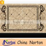 Norton Hotel lobby floor square european marble medallion for sale NTMS-MM010L