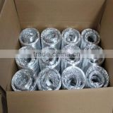 PE foam insulation tube/flexible pipe with aluminum foil