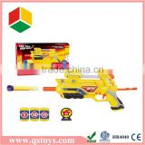 Plastic B/O bullet toy gun with light and music