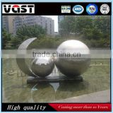 Garden and park stainless steel polishing balls for decorating
