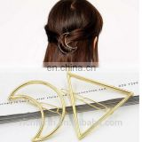 geometrical hair clip for girl to hold the bang