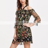 New fashion design latest short women party wear ethnic dress