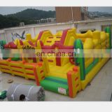 Special inflatable cow boy style castle, inflatable combo bouncer, air trampoline