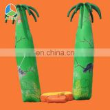 Funny&Tropical tree balloon arch,inflatache arch with price