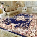 High quality the professional ribbed carpet factorygold flower shaped rug made in china 6x9ft hand made the persian carpet