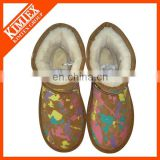 full print pattern snow boots for winter