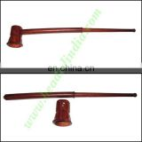Handmade rosewood smoking pipe, size : 12 inch pipe