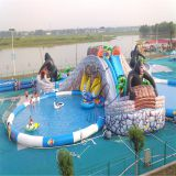 used commercial swimming pool water slide/fiberglass pool slide/pool slide fiberglass