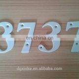 Steel alloy forge casting powder coated luminescent reflection door letter & numbers