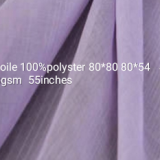 100%polyster 80sX80s 80x54 voile fabric for Arabia lumgi