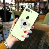 Wholesale Fashion Luxurious Sublimation Cute Printing Glass Case Mobile Cover Phone Case for Oppo  R15