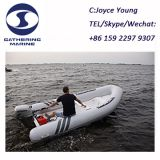 PVC Aluminum Speed Inflatable Boat with CE certificate