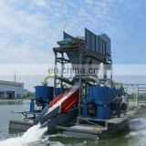 Gold panning jet suction dredger