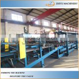 sandwich panel cold roll forming machine/rock wool sandwich roofing tiles cold making line