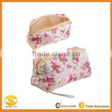 high quality printed canva cheap wholesale makeup bags,funky cosmetic bag as makeup bag,makeup bag natural for travel