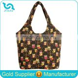High Quality Owl Canvas Shopper Bag Girls Shopper Tote Bag