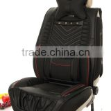 leather car seat cover for standard model car material: pu leather full set                                                                         Quality Choice