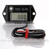 Digital Inductive Waterproof Tiny Tach Hour Meter Tachometer Used For Motocross Dirt Bike Boat Marine Generator