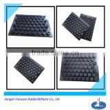 high performance anti vibration pad((EPDM,silicone,NR,NBR,Neoprene(CR) and recycled rubber)