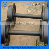 Customizable Big Loading Capacity Cast Iron Or Cast Steel Mine Car Wheel Set with good performance