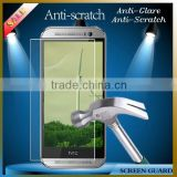 0.22/0.24/0.32mm shatterproof phone anti shock screen film/protector for HTC One M8 mini