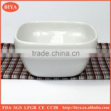 porcelain flower pot ceramic square shape bowl ,dessert bowl, porcelain cooking bowl,tetragonum dinner bowl cheap bowl