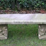 2016 Hot Sales Cast stone outdoor bench garden sets