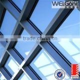 Sound Proof Energy Saving Thermal Temperedl Low-e Insulated Glass Fill Agron Gas For Windows Curtain Wall