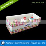 Cheap and high quality PET Clear blister packaging plastic box for toy packaging with inner plastic tray in China