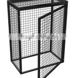 Metal Folding Storage Cage Wire Mesh Container for Warehouse