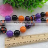 Halloween Newest Fancy Chunky Acrylic Necklace!!kid chunky necklaces!!!loose latest products in market!!!!
