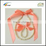 jewelry use custom woven polyester satin color ribbon for sale