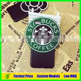 Starbucks 3d silicone mobile phone case cover for LG G Flex 2 cell phone back cover case