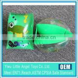 green inflatable swimming armband for kids