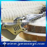 2016 Guitar Keychain Unisex Guitar Key chain classic alloy Key Ring K0069