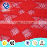 Very Beautiful Bangkok 3d Allover Cotton Lace Fabric in Red Color