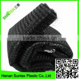 Supply 2016 100% virgin pe UV resistant extruded black oriented netting /fruit cage net/general anti bird stop netting